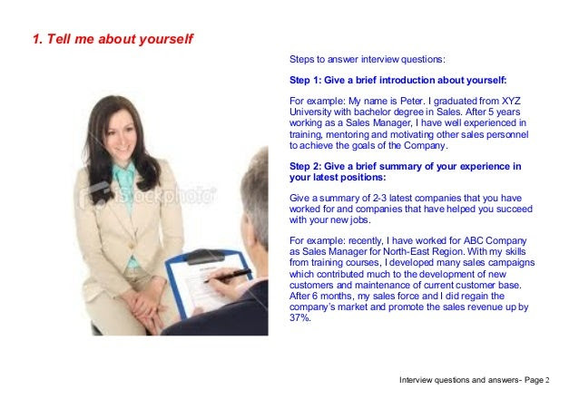 Top 9 customer service interview questions answers