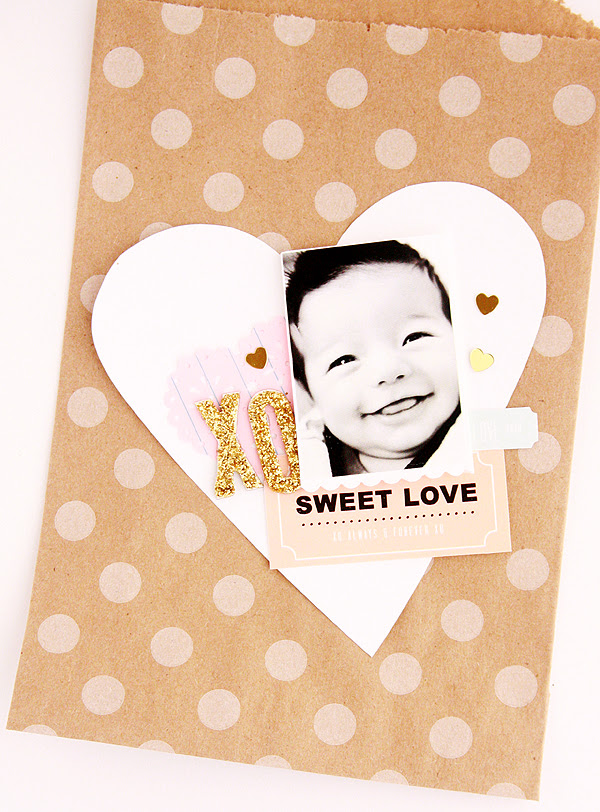 sweet love polka dots
