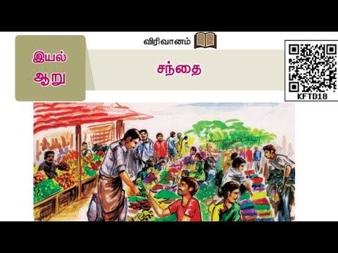 8th Tamil இயல் 6 சந்தை Kalvi TV