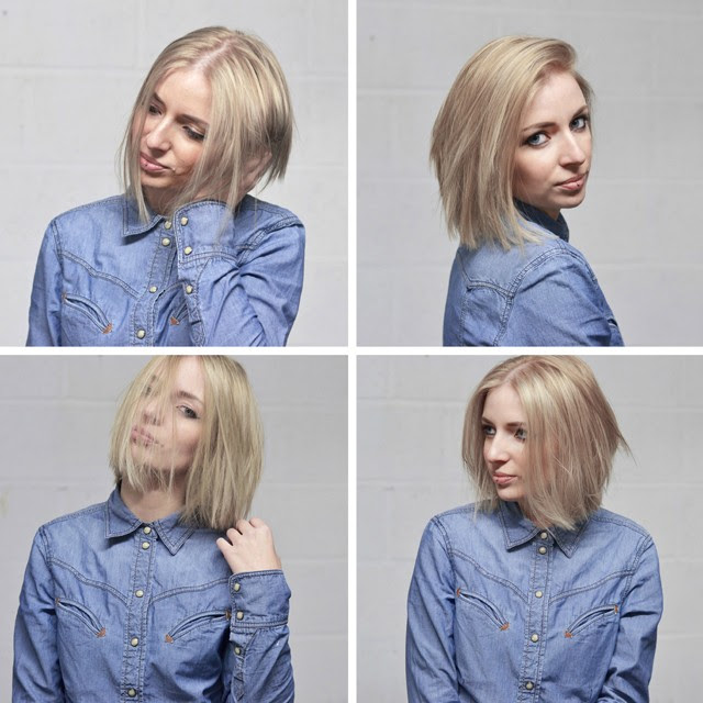 new hair ash blonde bob carre fashion blogger turn it inside out belgium