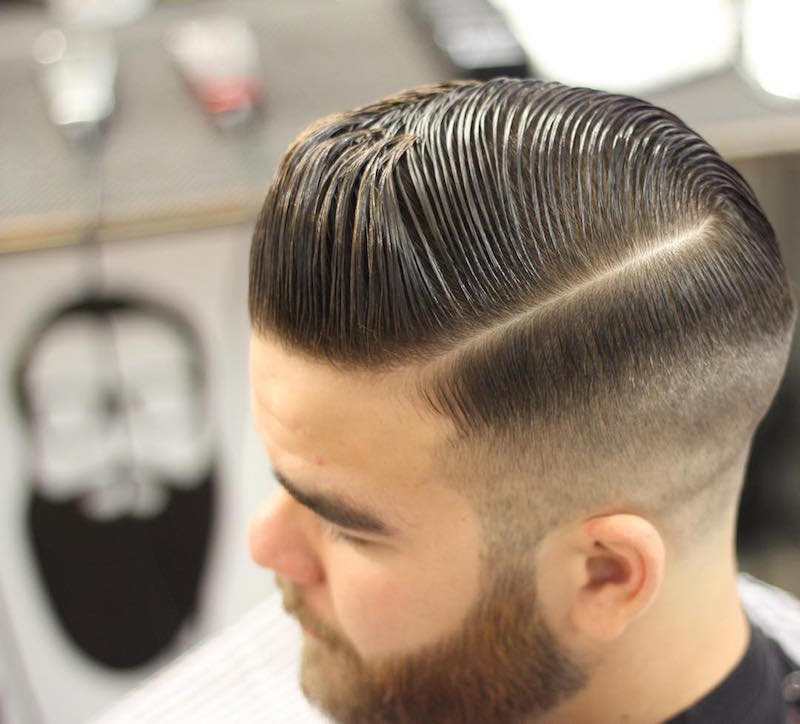 barberjustin_medium slicked pomp high fade