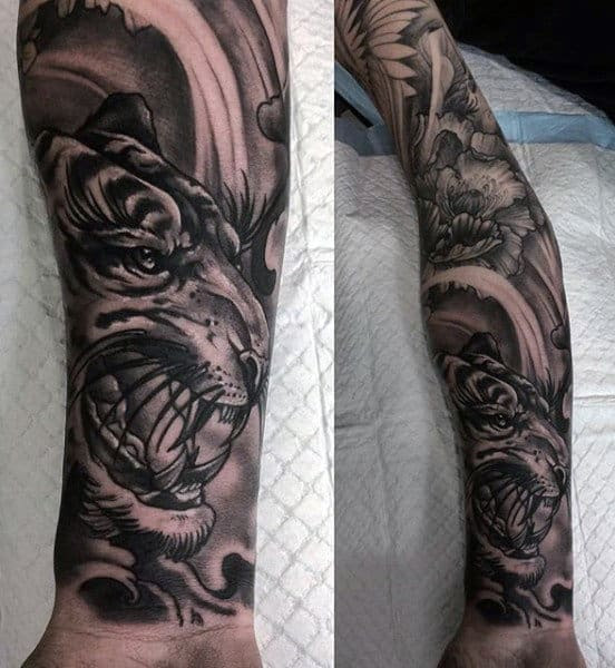 100 Tiger Tattoo Designs For Men King Of Beasts And Jungle