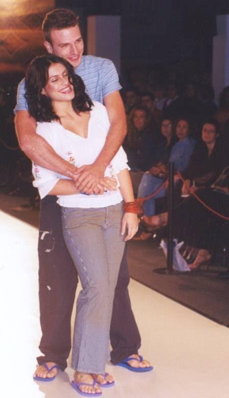 CLEO PIRES E CÁSSIO REIS FORAM NAMORADOS EM 2002