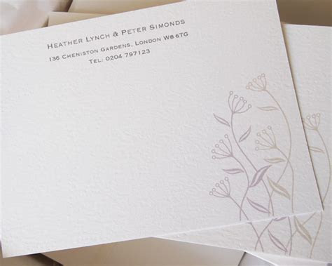 Correspondence Cards Personal Stationery ? Paper Pleasures