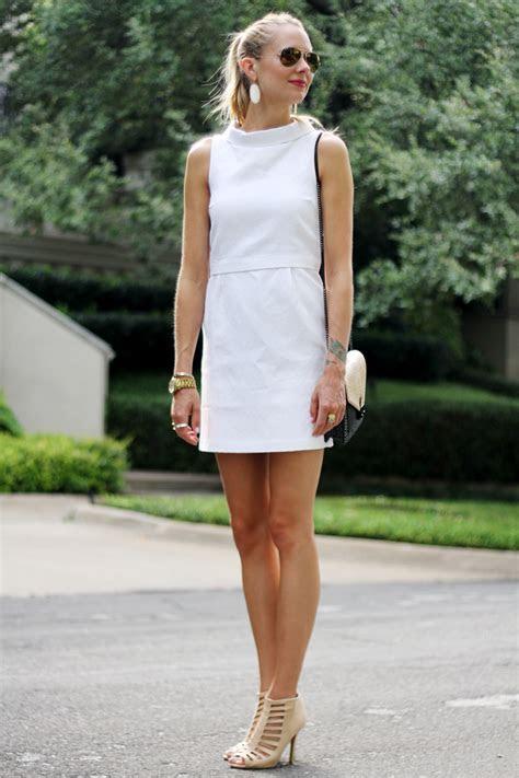 white dress fashion jackson
