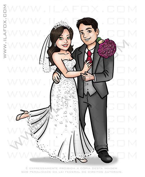 caricatura noivos, caricatura desenho, caricatura bonita, caricatura casal, caricatura para casamentos, caricatura sem exagero, caricatura by ila fox