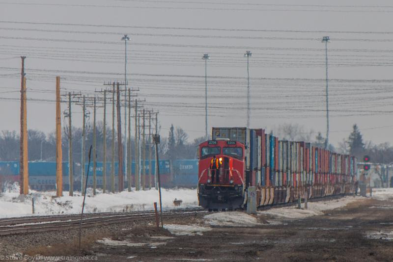 CN 2256 in Winnipeg