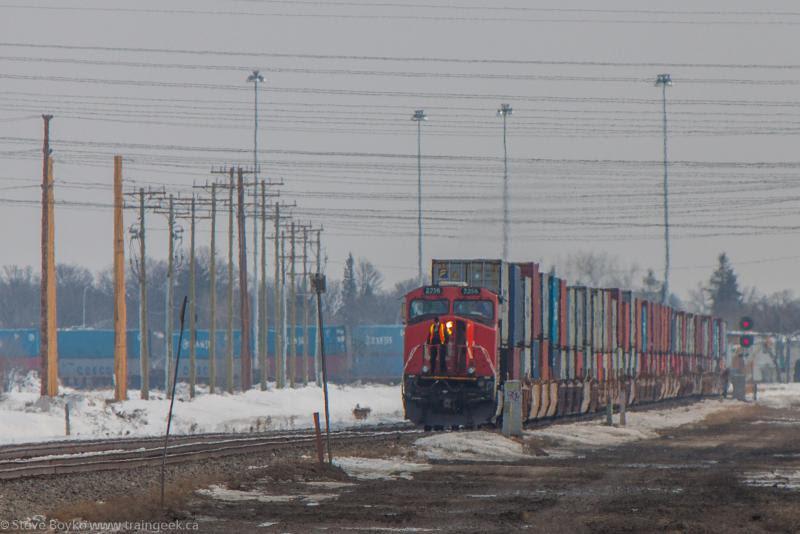 CN 2256 in Winnipeg