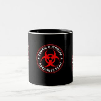 Dead Zombie Response Team Walking Mug Coffee Cup