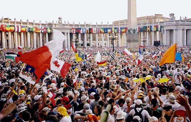 World Youth Day 2000, Rome, from sporki, via Wikimedia Commons, used w/o permission.