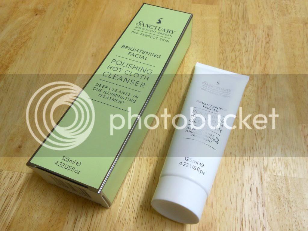 Beauty Blog Review Sanctuary Spa Hot Cloth Cleanser
