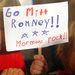 Pro-Mormon sentiment at a Mitt Romney rally in January.  Mr. Romney's faith will be a highlight of  Thursday's session in Tampa.