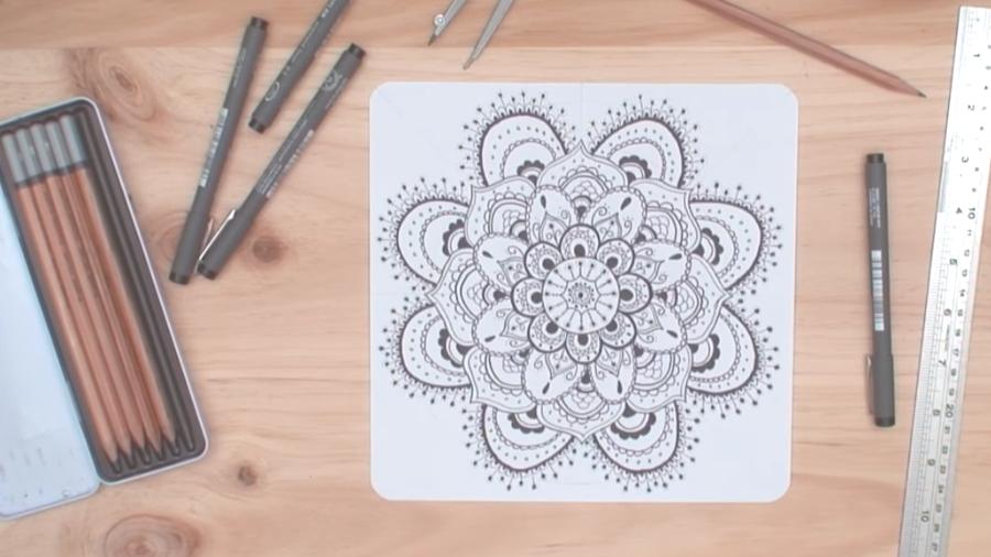 Cómo Dibujar Mandalas Hazlo Tu Mismo