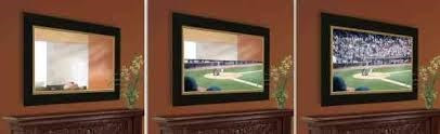 Using a two-way mirror to conceal your TV | C&H Custom ...