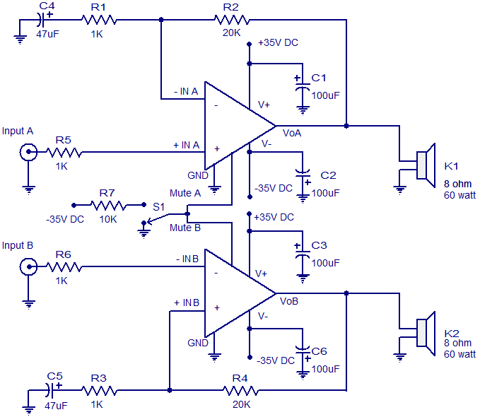4 channel audio amplifier circuit diagram in pdf circuit diagram 4 channel audio amplifier circuit diagram in pdf circuit diagram 2x60 watt amplifier using lm4780 publicscrutiny Choice Image