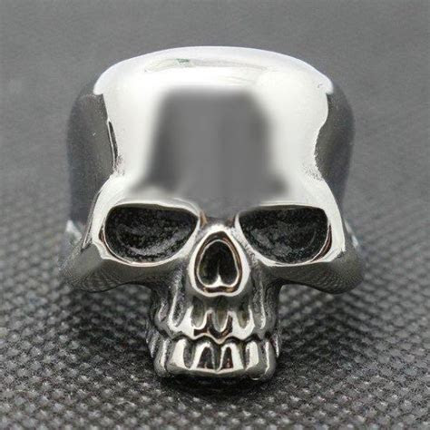 Old School Badass Sturgis Stainless Steel Skull Ring
