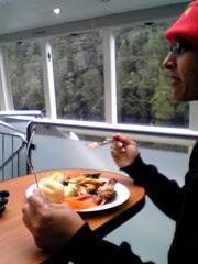 Lunch aboard the Lady Jane Franklin II