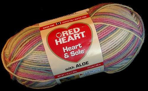 yarn used for fingerless gloves