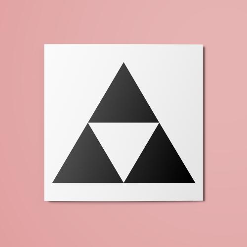 The Legend Of Zelda Triforce V1 Temporary Tattoo The Random Club