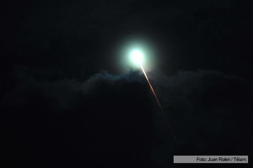 Un extraño fenómeno en el cielo fue visto en Buenos Aires, Entre Ríos y Santa Fe