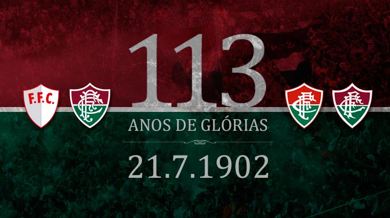 Fluminense completa 113 anos de muitas histórias