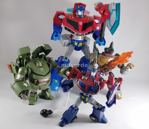 Transformers Animated Autobots (by mdverde)
