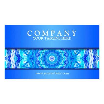 121 Enchanted SeaStar mandala modern Business Card Templates