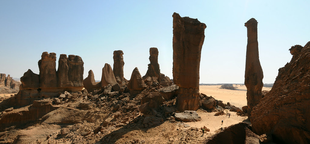 Chiguéou, massif de l'Ennedi, Tchad