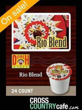 Diedrich Rio Blend Keurig K-cup coffee