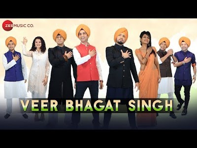 VEER BHAGAT SINGH Lyrics – A Tribute by Kumar Vishwas, Sonu Nigam, Arijit Singh, Shaan & Others