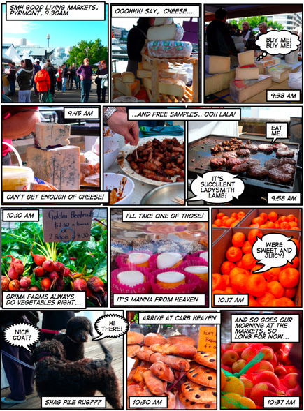 A day at the markets...
