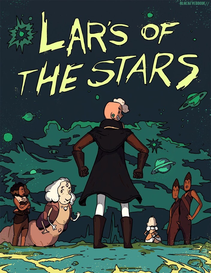 Lars of the stars! Really like his character progression and can't wait for what comes next. He needs to have his own show now. . . . . #art #stevenuniverse #cartoon #space #aliens #stevenuniverseart...