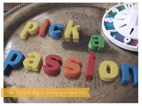 Pick a Passion
