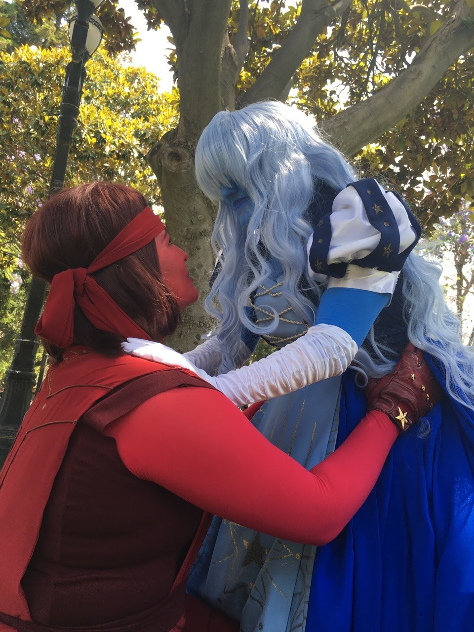 Preview of @horse-stamp-hooligans and I's Ruby and Sapphire at Fanime! A friend of ours took these but we're also waiting on some photo shoot images~~ these aren't retouched or anythin cause I'm still...