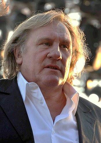Français : Gérard Depardieu au festival de Cannes
