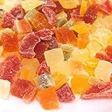 ドライフルーツミックス 7種類(キウイ・イチゴ・パイナップル・パパイヤ・マンゴー・メロン・りんご) 1kg入り (チャック袋)