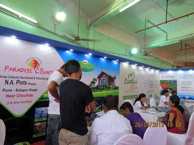 Paradise County - N A - T P Sanctioned Plots - Choufula on Solapur Road - Visit Sakal Agrowon Green Home Expo, 25th and 26th May, 2013