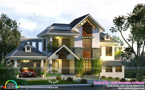 cute home trend   kerala home design  floor plans