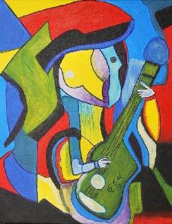Hombre Guitarra