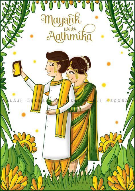 Maharashtrian Wedding Invitation on Behance   Cards