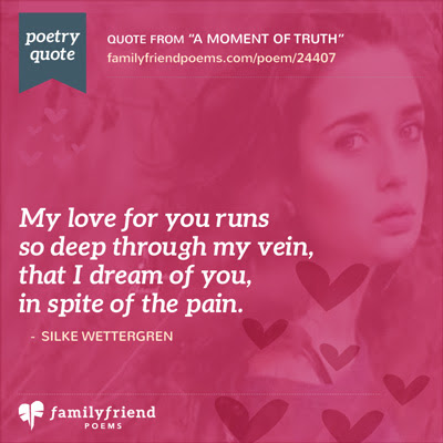 Love Forever Poem, A Moment Of Truth