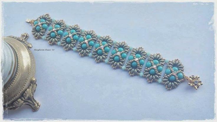 75marghe75 Bead By Bead: Vi mostro un paio di bracciali con perline appena creati.