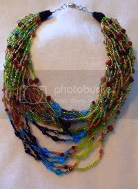Once A Peacock Necklace