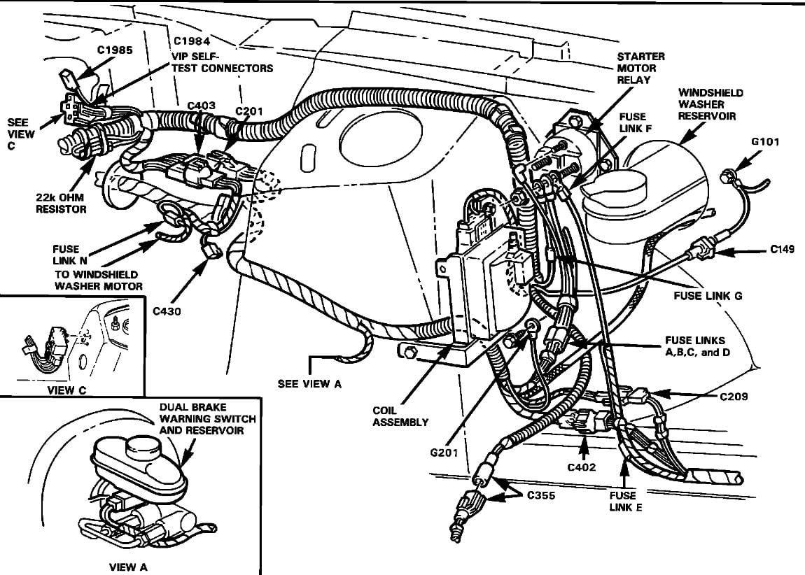 1991 Ford ranger starter relay