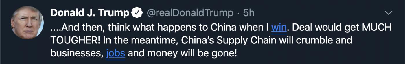 Không có thời gian để tiếp tục đàm phán, Trump không thể ngồi yên _ Hình 1-2