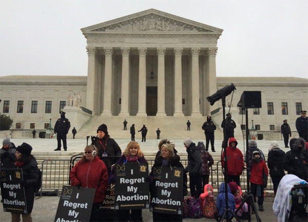 2016 March for Life (Photo: Twitter/Father Kevin Cusick)
