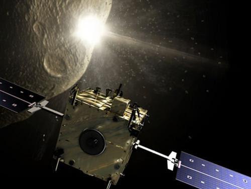 פרוייקט דון קישוט. חללית פוגעת באסטרואיד