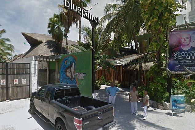 Events at the Blue Parrot Club (pictured in daylight) were part of the annual BPM Festival, which closed on Sunday night