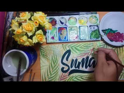 Download Thumbnail For Part 2 Belajar Kaligrafi Hand Lettering