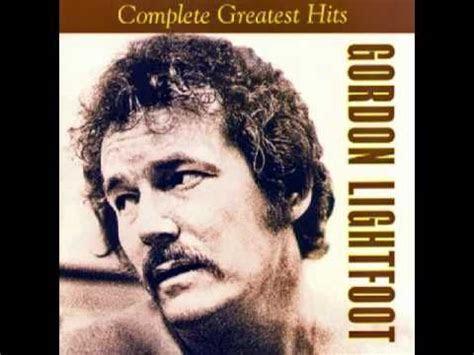 gordon lightfoot   complete greatest hits album   YouTube
